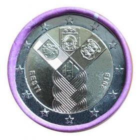 2 Euro / 2018 - Estónsko - Nezávislosť