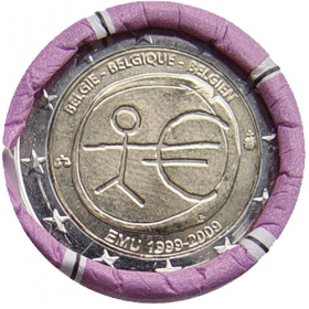 2 Euro / 2009 - Belgicko - Hospodárska a menová únia