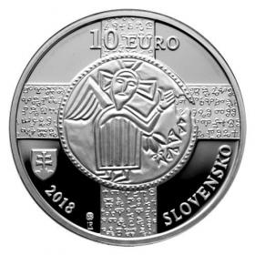 10 Euro / 2018 - Slavonic liturgical language - Proof