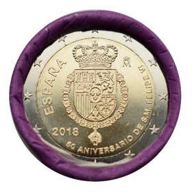 2 Euro / 2018 - Španielsko - Felipe VI.