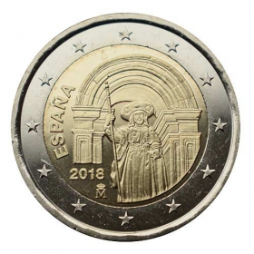 2 Euro Španielsko 2018 - Santiago de Compostela