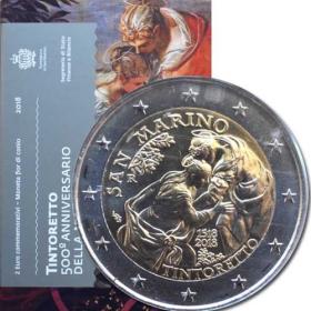 2 Euro San Maríno 2018 - Tintoretto