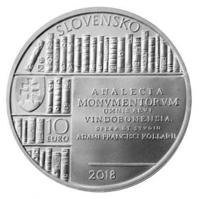 10 Euro / 2018 - Adam František Kollár - Bežná kvalita