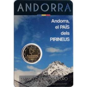 2 Euro / 2017 - Andorra - Krajina v Pyrenejách
