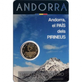 2 Euro / 2017 - Andorra - the Pyrenean Country