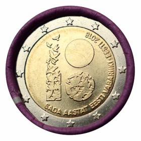 2 Euro / 2018 - Estónsko - Republika