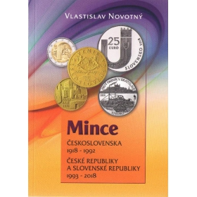 Coins of Czechoslovakia 1918-1992, Czech and Slovak Republic 1993-2018