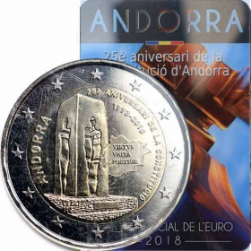 2 Euro Andorra 2018 - Ústava Andorry