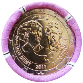 2 Euro / 2011 - Belgicko - Medzinárodný deň žien