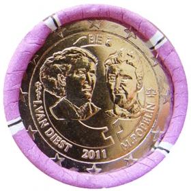 2 Euro Belgicko 2011 - Medzinárodný deň žien