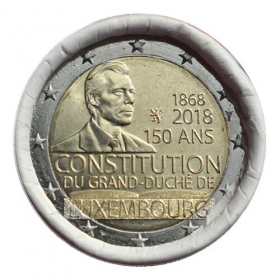 2 Euro / 2018 - Luxembourg - Constitution