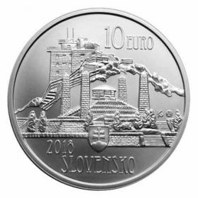 10 Euro / 2018 - Dušan Samuel Jurkovič - Bežná kvalita