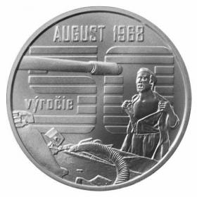 10 Euro / 2018 - August 1968 - Bežná kvalita