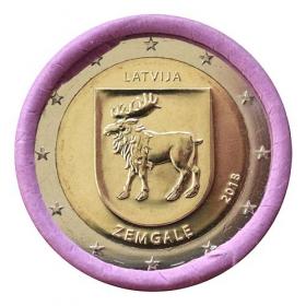 2 Euro Lotyšsko 2018 - Oblasť Zemgale