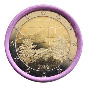 2 Euro Fínsko 2018 - Kultúra saunovania