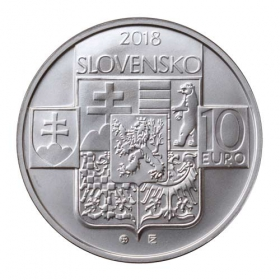 10 Euro / 2018 - Vznik ČSR - Bežná kvalita
