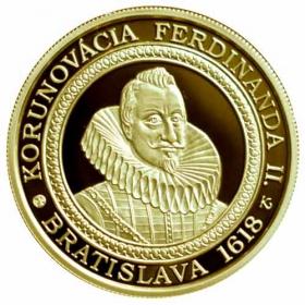 100 Euro / 2018 - Korunovácia Ferdinanda II.