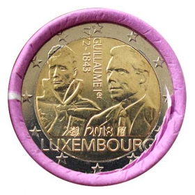 2 Euro / 2018 - Luxembourg - Guillaume I.