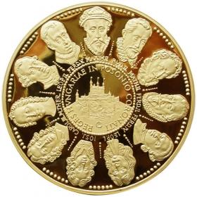 Panovníci korunovaní v Bratislave 1563-1830 (10-dukát)