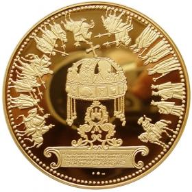 Zlatá medaila - Panovníci korunovaní v Bratislave 1563-1830 (10-dukát)