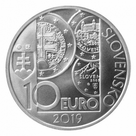 10 Eur 2019 - Zavedenie eura v SR Bežná kvalita