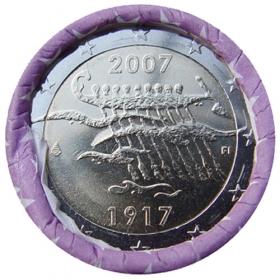 2 Euro / 2007 - Fínsko - Nezávislosť Fínska
