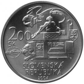 200 Sk / 2004 - 200th anniversary of the death of Wolfgang Kempelen - BU