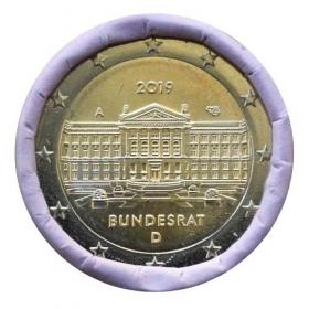 "2 Euro Nemecko  ""A"" 2019 - Bundesrat"