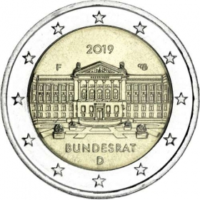 2 Euro / 2019 - Germany - Bundesrat F