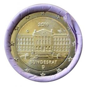 "2 Euro Nemecko ""G"" 2019 - Bundesrat"