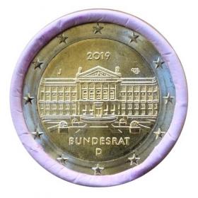 "2 Euro Nemecko ""J"" 2019 - Bundesrat"
