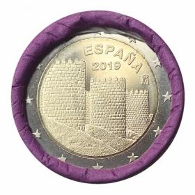 2 Euro / 2019 - Španielsko - Staré mesto Ávila