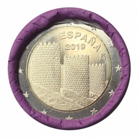 2 Euro Španielsko 2019 - Staré mesto Ávila