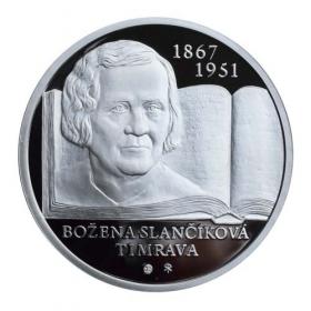 10 Euro / 2017 - Božena Slančíková Timrava Proof + Pamätný list