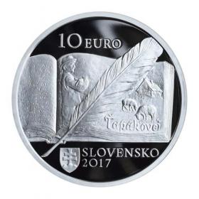 10 Euro / 2017 - Bozena Slancikova Timrava + Commemorative deed