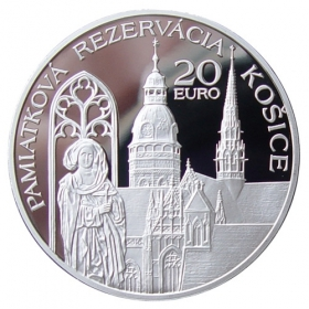 20 Euro / 2013 - Historical Preservation Area of Kosice - Proof