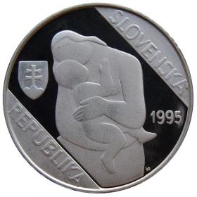 200 Sk / 1995 - Mikulas Galanda - Proof