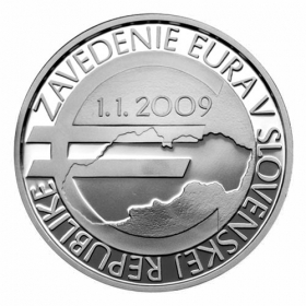 10 Euro 2019 - Introduction of the euro in the SR - 10th anniversary