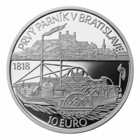 10 Euro / 2018 - Steamer - Proof
