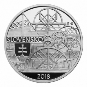10 Euro / 2018 - Parník - Proof