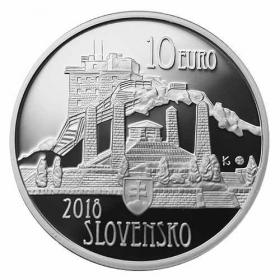 10 Euro / 2018 - Dušan Samuel Jurkovič - Proof