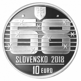 10 Euro / 2018 - August 1968 - Proof
