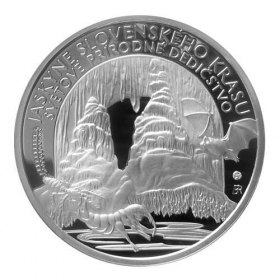 10 Euro / 2017 - Caves of Slovak Karst - Proof