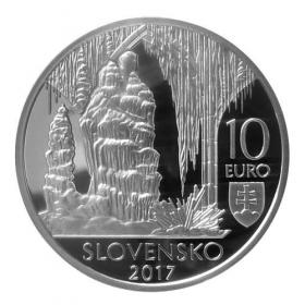 10 Euro / 2017 - Caves of Slovak Karst - Proof