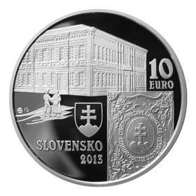 10 Euro / 2013 - Matica slovenská - Proof