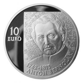 10 Eur 2012 - 250. výročie narodenia Antona Bernoláka - Proof