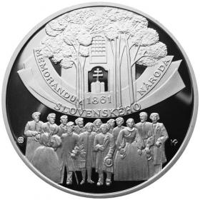 10 Euro / 2011 - Memorandum národa slovenského - Proof