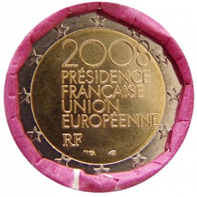 2 Euro / 2008 - France - EU Presidency