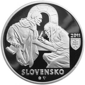 10 Euro / 2011 - Zoborské listiny - Proof