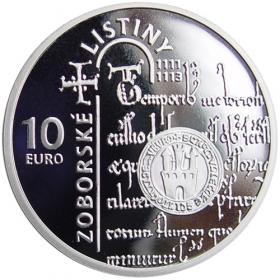 10 Eur 2011 - 900. výročie Zoborské listiny - Proof